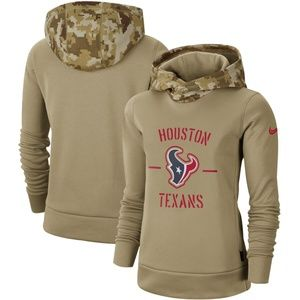 Women's Houston Texans Pullover Hoodie